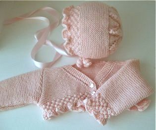 Spanish designed baby surplice and cap