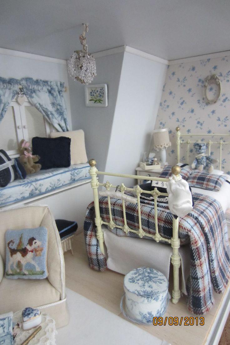 attic room in my favourite colours