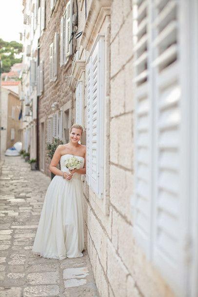 Небесная Хорватия: свадьба Ольги и Александра