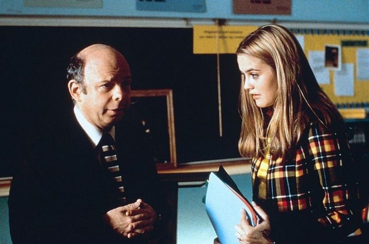 Wallace Shawn (as Wendell Hall) Alicia Silverstone (as Cher Horowitz) in Clueless (1995) #clueless #1995 #90smovies #AliciaSilverstone #WallaceShawn