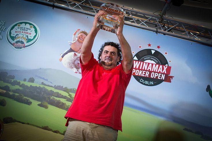 Le légendaire Antonin Teisseire remporte le WPODublin 2016 et 72 000€ !