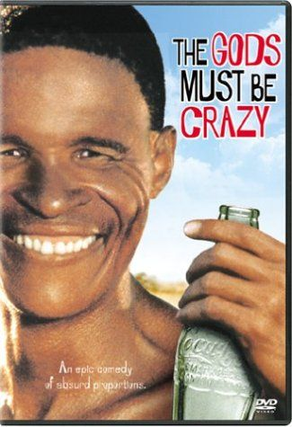 """The Gods Must be Crazy"" (1980) ~ LOVE this one: all because of a Coke bottle."