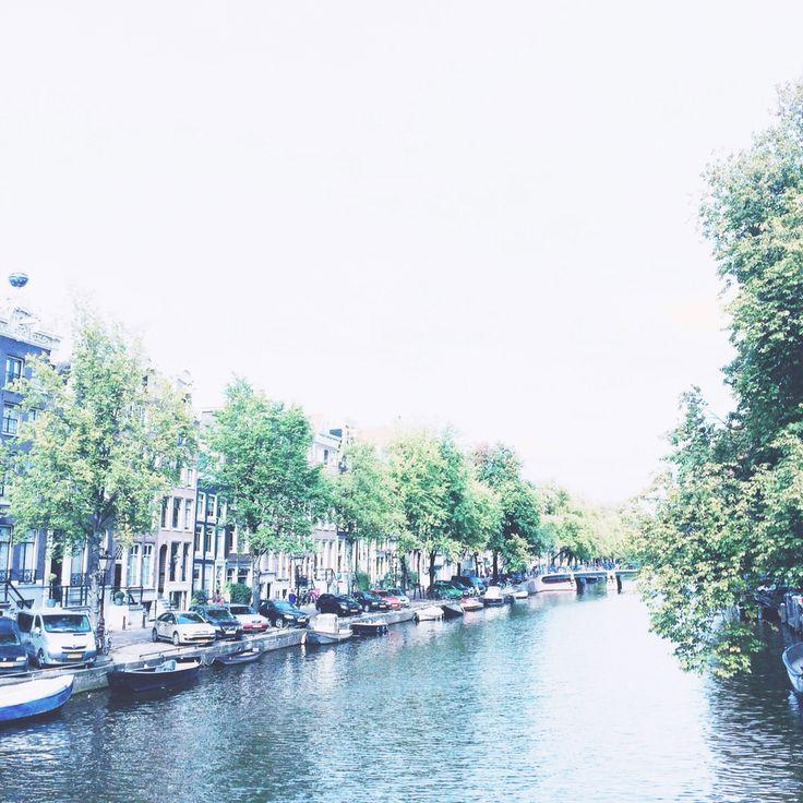 picturesque amsterdam.