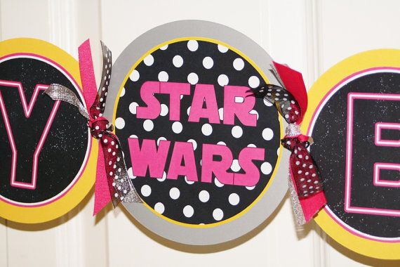 Star Wars party for girls!!!