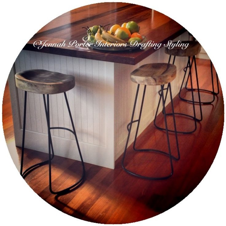 Orson & Blake barstools for the home by Jennah Porter Interiors Drafting Styling