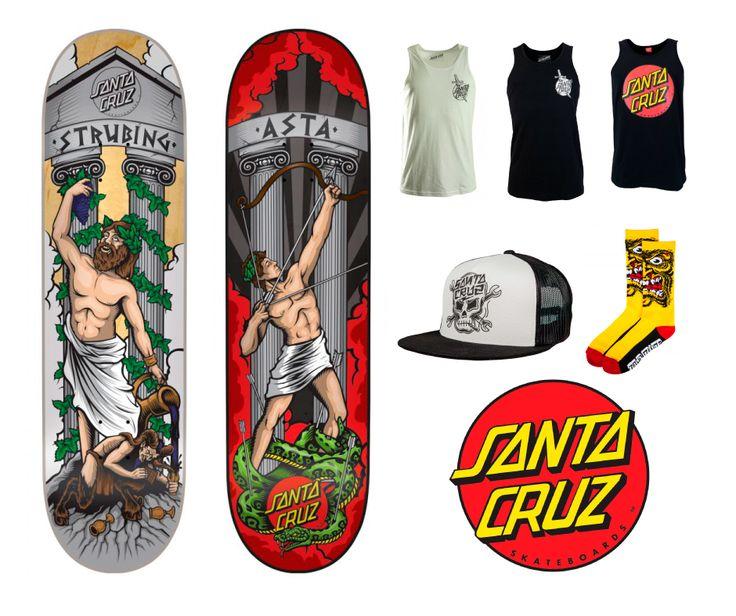 Santa Cruz skateboards - Skeittikauppa.com