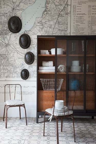 : Decor, Inspiration, Maps Wall, Wall Murals, Interiors, Wallpapers Ideas, Wallpapers Maps, House, Design