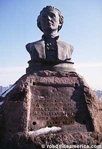 Death Rock of Alexander Hamilton - Weehawken, New Jersey