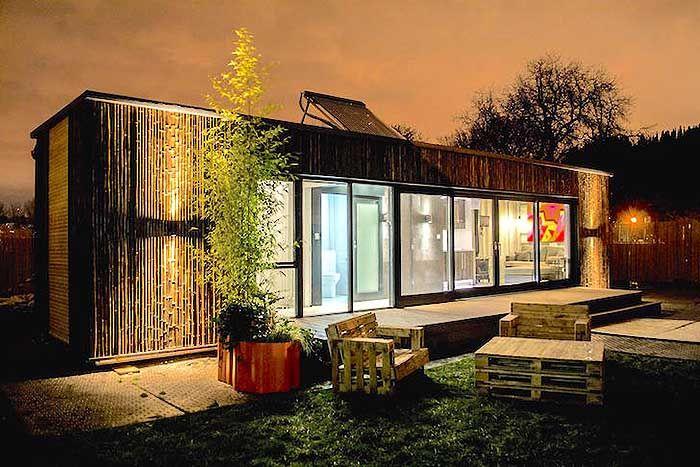 1000 id es sur le th me comment construire une cabane sur pinterest plan ca - Construire une maison container ...