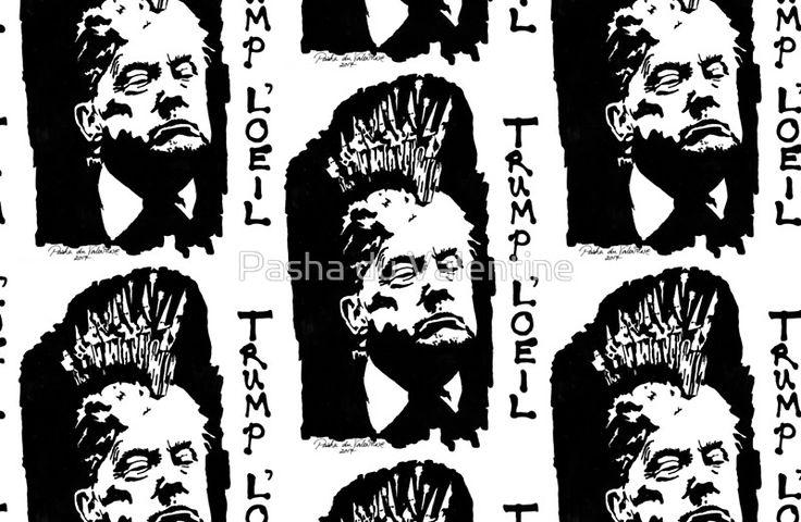 Trump L'oeil by Pasha du Valentine for Goddamn Media