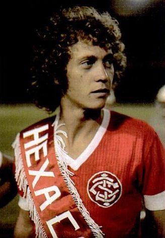Falcão no Inter em 1974Fonte: Placar