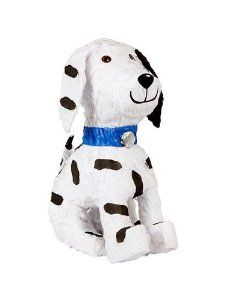 Puppy Pinata (each) by Ya Otta Pinata. $18.07. Size: 15 H x 6 W x 13 L. Your little hounds will have a barking good time with this brown and white traditional pinata that's shaped like a puppy! Ages 3 and up.