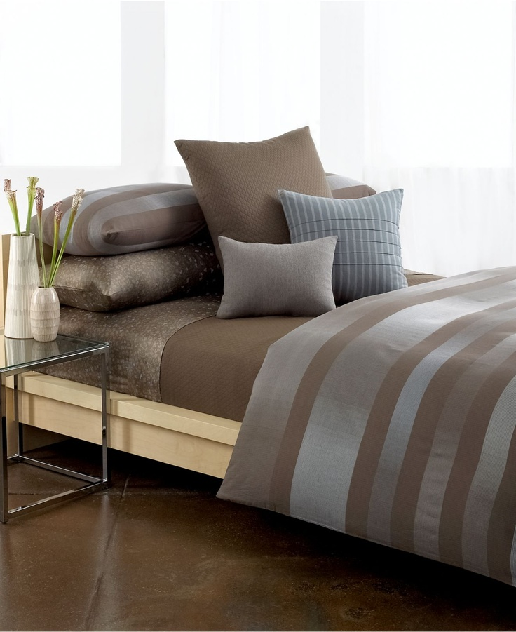 Calvin Klein Bedding, Pelham Comforter And Duvet Cover Sets   Bedding  Collections   Bed U0026