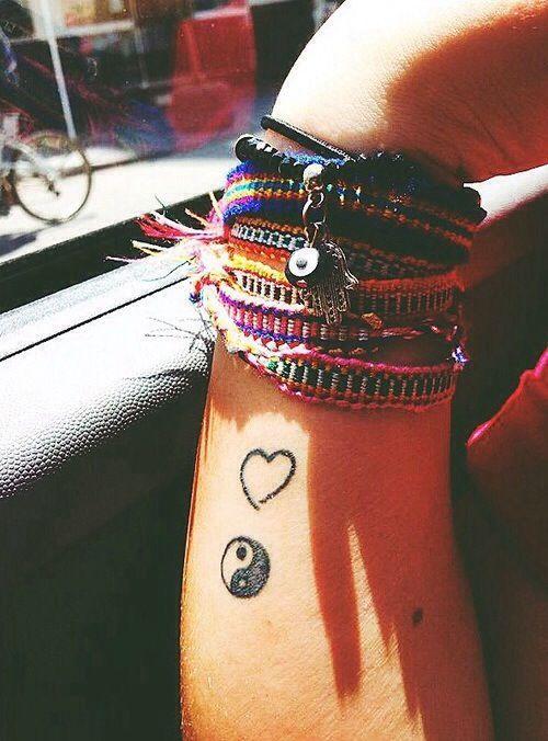 side wrist tattoo