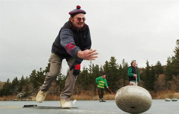 Curling, Central Otago. http://www.centralotagonz.com/winter-sports