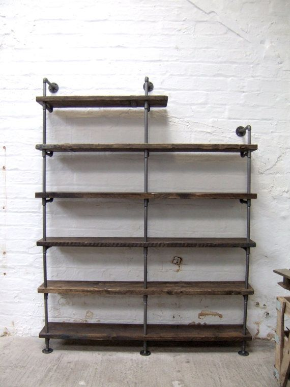 Vintage Industrial Styled Iron Gas Pipe and by TrashTheHouse