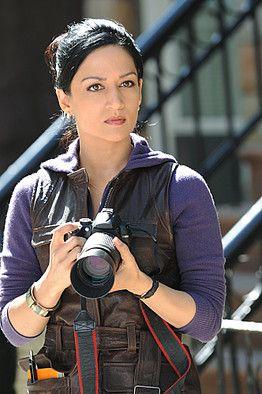 The fabulously cynical Kalinda Sharma, The Good Wife (Archie Panjabi)