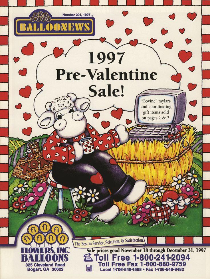 BALLOONEWS: Pre-Valentine 1997 #burtonandburton #tbt