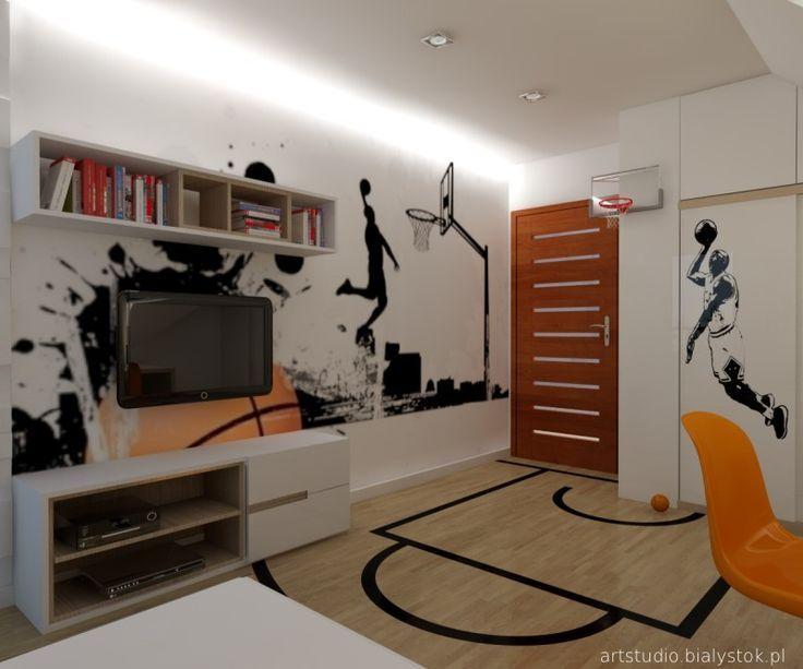 young basketball player bedroom vol.1   artstudio