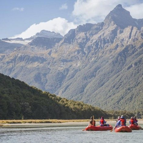 Explore the Dart River by inflatable kayaks...it's called Funyaking!