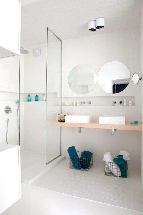 Salle de bains niche de rangement d co pinterest - Niche de salle de bain ...