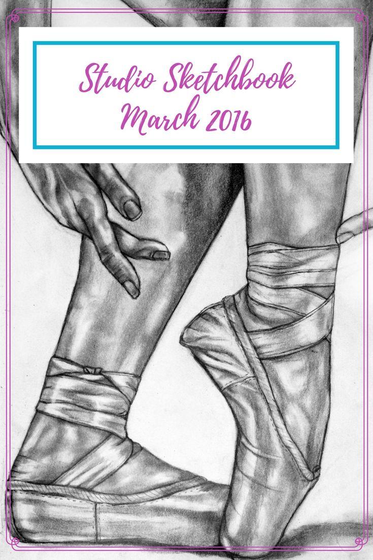 Studio Sketchbook - March 2016 - Artfully Creative Life