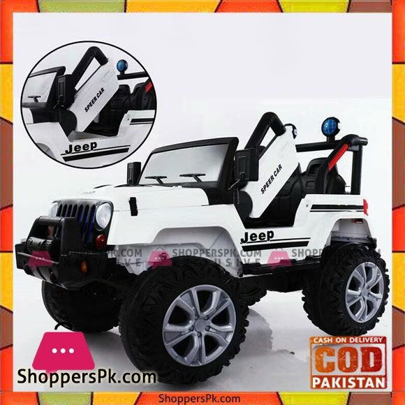 Buy Ksjp Ride On Battery Operated Jeep For Kids At Best Price In