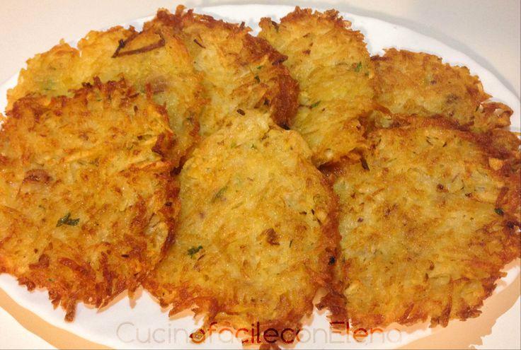 Rosti di patate | Ricetta originale, facile e gustosa