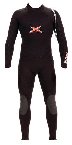 2mm L/S TITANIUM MEGA-STRETCH SEALED SEAM STEAMER WETSUIT | triple-x-wetsuits