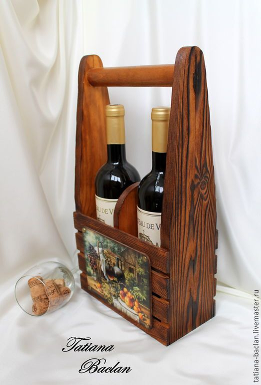 Короб для вина - короб, короб для хранения, короб для вина, вино, дерево, натуральное дерево