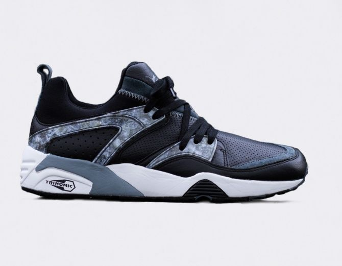 #Puma Trinomic Blaze of Glory Marble Pack Black #sneakers