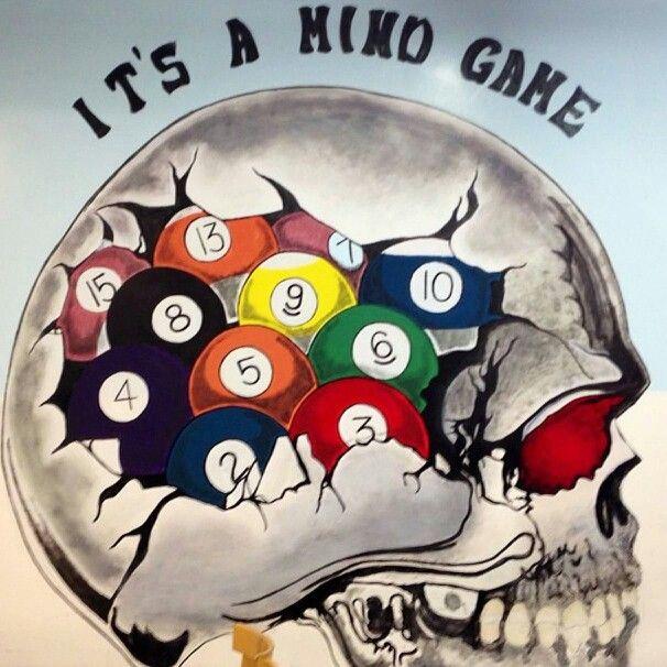 Billiards......Its a Mind Game.