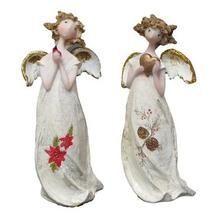 Christmas Angel Ornament Set of 2 Q484-0182-29423AB