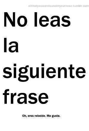 Me Gusta Que Seas Rebelde #ImagenDelDia