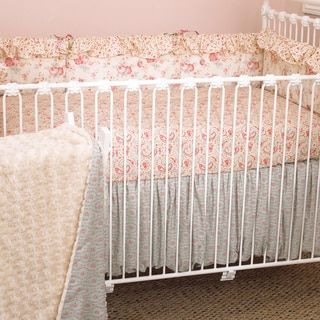 Cotton Tale Tea Party 4-piece Crib Bedding Set - Free Shipping Today - Overstock.com - 15503575 - Mobile