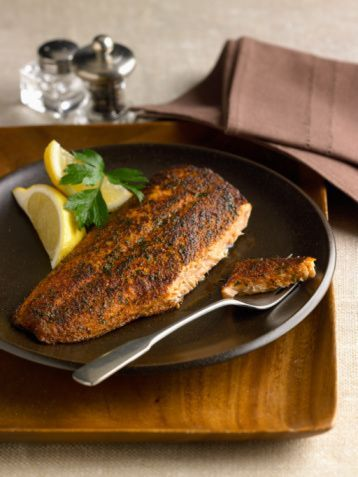 Blackened Red Snapper - Grilled Fish Recipe