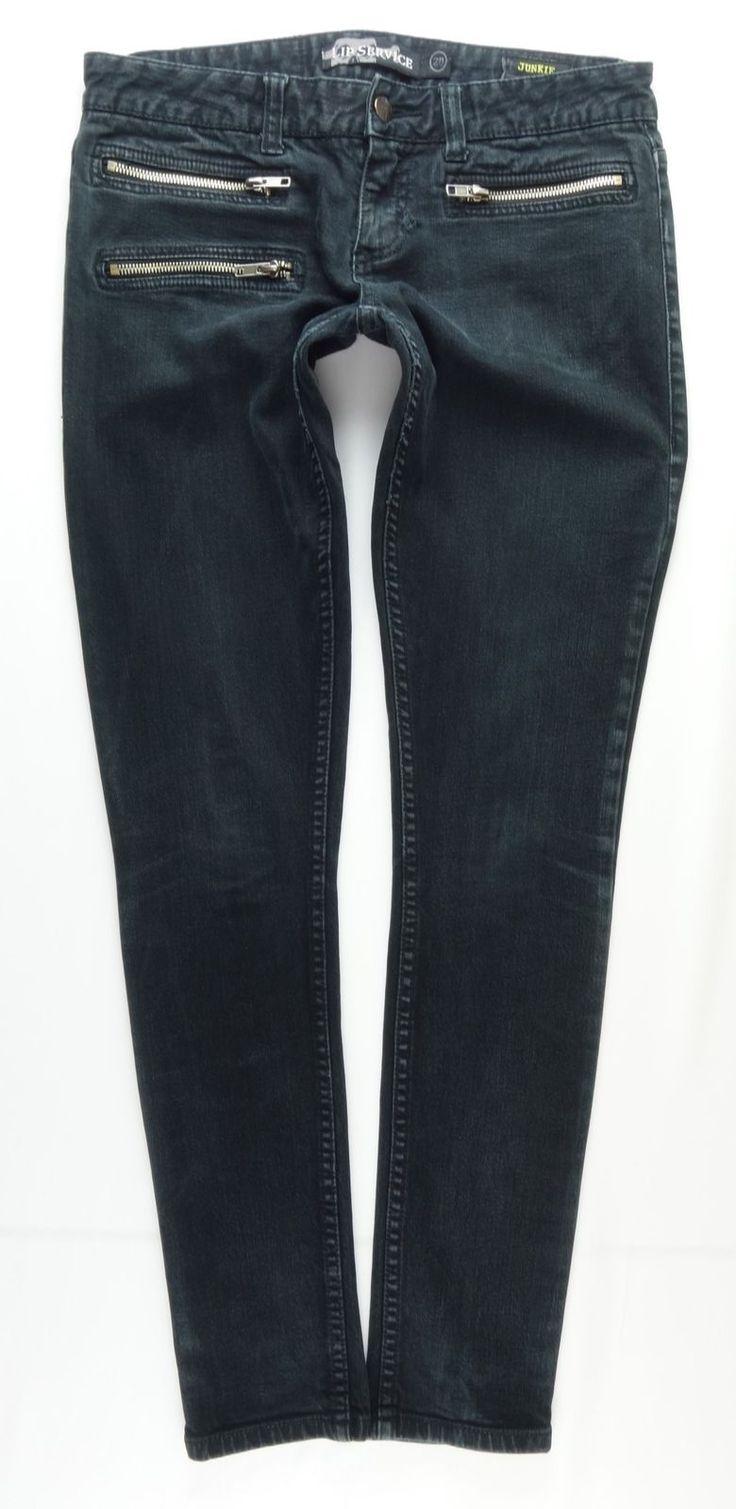 """LIP SERVICE Rock'n'Roll Jeans """"Heartbreak"""" pants #64-302"""