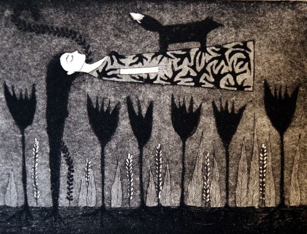 Omat juuret, own roots, Mirka Johansson, graphic