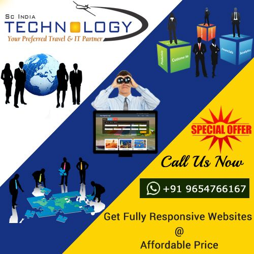 Get Fully Responsive Websites at affordable price.more detail visit now - http://www.travelportalsolution.com
