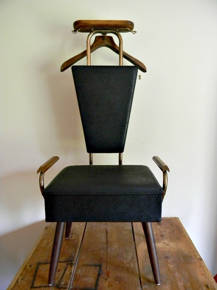 Gentleman's Dressing Chair, Vintage Valet Chair. $80.00, via Etsy. - 87 Best Men's Valet Images On Pinterest Woodworking, Carpentry And