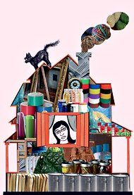 """""""It's Time to Say Goodbye to All That Stuff,"""" clutter-busting article in the NY Times by Jane E. Brody; recs """"The Hoarder in You: How to Live a Happier, Healthier, Uncluttered Life""""     by Robin Zasio, a clinical psychologist."""