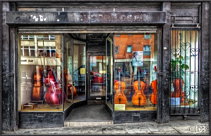 The Violin Shop on Mansfield Road in Nottingham