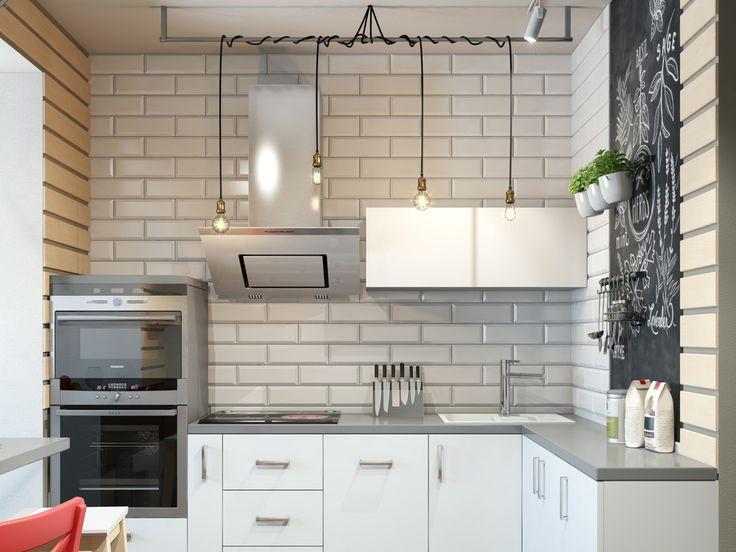 Как увеличить площадь кухни: классный проект в Сургуте | Свежие идеи дизайна интерьеров, декора, архитектуры на…