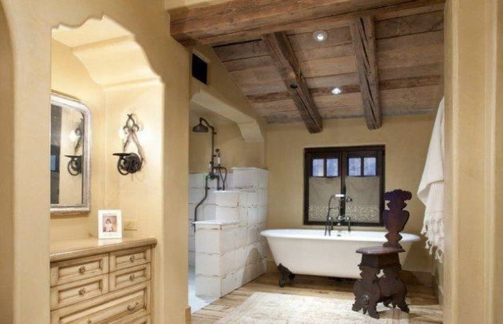 Cool Rustic Wooden Ceiling Design Ideas 25