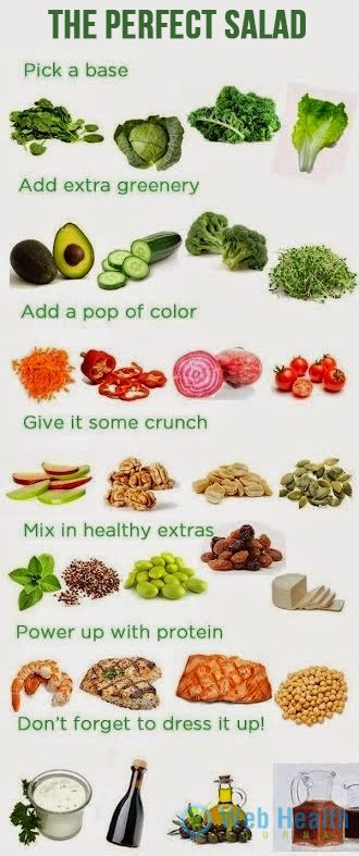 The perfect salad : #fitness #exercise #abs #slim #fit #beauty #health #workout #motivation #cardio #belly #woman-fitness #ab-workouts #ab-inspiration #nutrition
