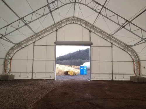 Temporary Construction Shelter