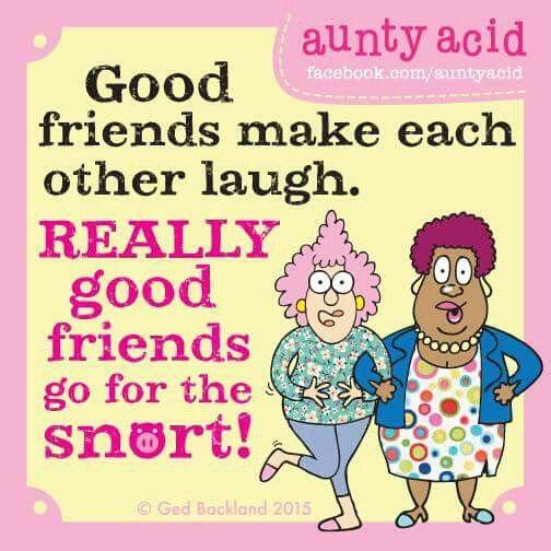 friends aunty