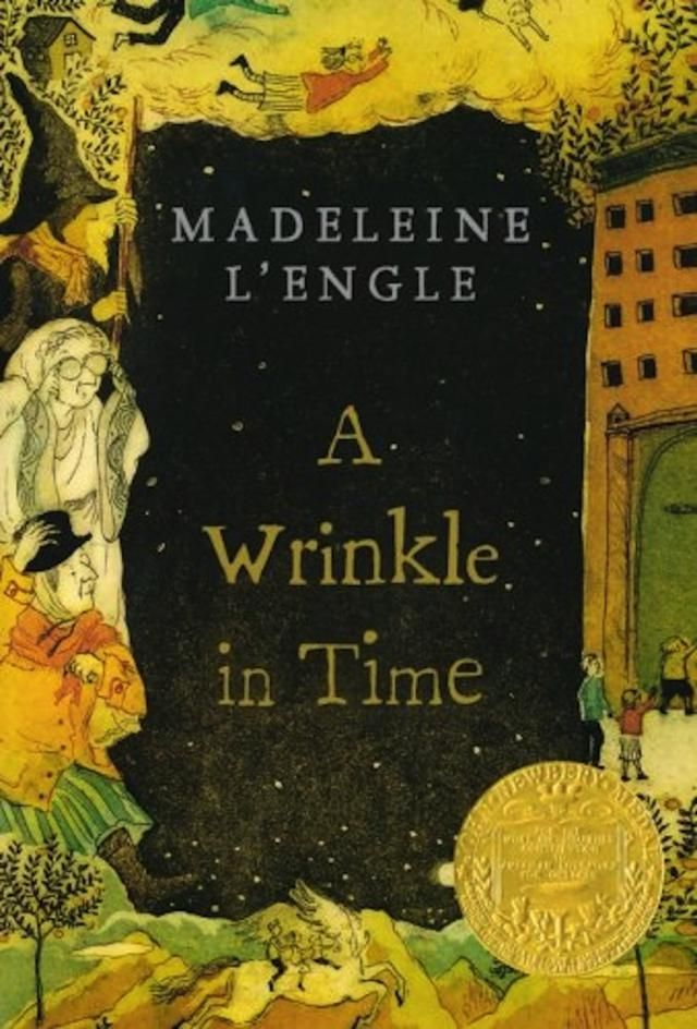 'A Wrinkle in Time' is the 1962 fantasy classic by Madeleine L'Engle, which was remarkable as a science fiction story that had a female protagonist.