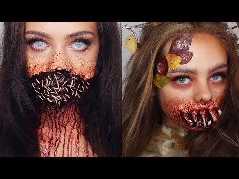 Maquillajes Increíbles para Halloween Compilación - Amazing Halloween Ma...