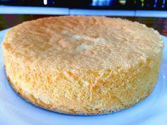 Pão de Ló sem Fermento com Apenas 3 Ingredientes                                                                                                                                                                                 Mais